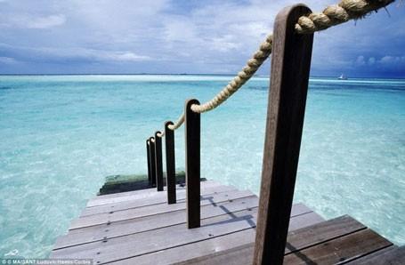 Choáng ngợp khung cảnh như thiên đường của khách sạn tốt nhất thế giới ảnh 18