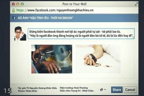 Câu chuyện tung clip sex và 'Hậu tình yêu thời Facebook' ảnh 14