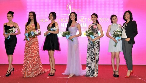 Lộ diện 35 người đẹp vào bán kết Hoa hậu Hoàn vũ Việt Nam 2015 ảnh 3