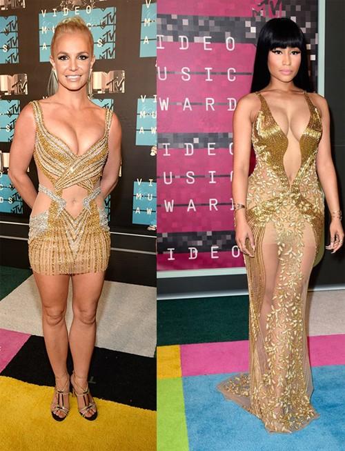 Choáng với trang phục dị hợm của dàn sao Mỹ tại giải MTV Video Music 2015 ảnh 8