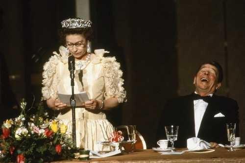 Câu chuyện ít biết về cuộc gặp gỡ giữa nữ hoàng Anh và 12 đời tổng thống Mỹ ảnh 5