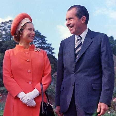 Câu chuyện ít biết về cuộc gặp gỡ giữa nữ hoàng Anh và 12 đời tổng thống Mỹ ảnh 8