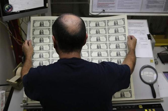 Chùm ảnh vén màn bí mật cơ quan in tiền quốc gia Mỹ ảnh 4
