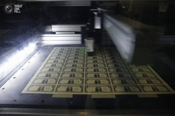 Chùm ảnh vén màn bí mật cơ quan in tiền quốc gia Mỹ ảnh 13
