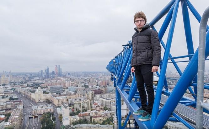 Đứng tim với chùm ảnh chụp từ độ cao 156m của chàng trai người Nga ảnh 12