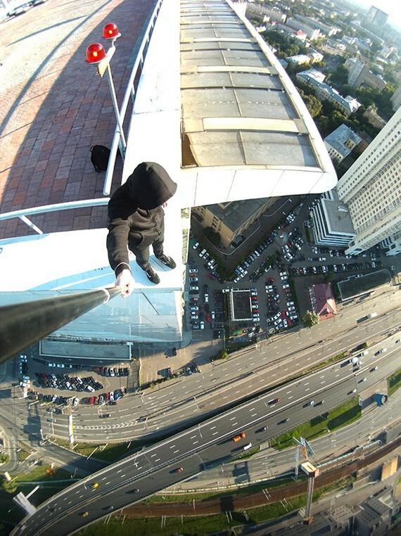 Đứng tim với chùm ảnh chụp từ độ cao 156m của chàng trai người Nga ảnh 15