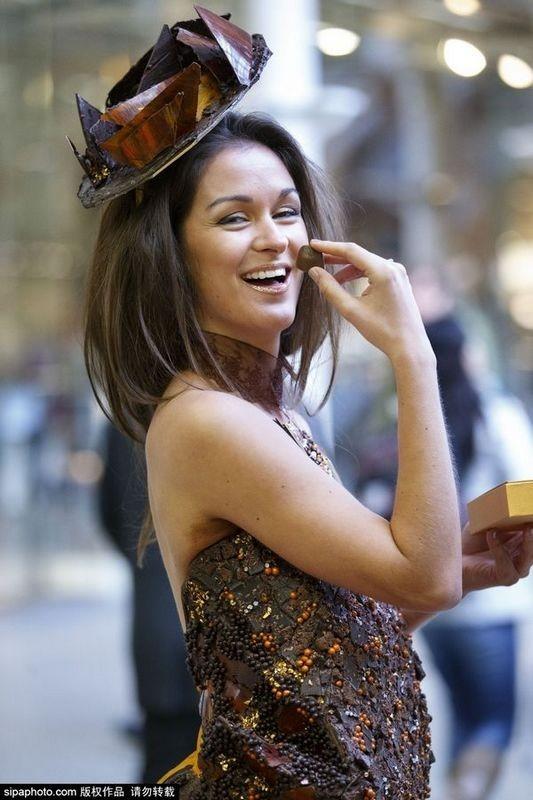 Điêu đứng trước dàn người mẫu gợi cảm với trang phục ngọt ngào nhất ảnh 4