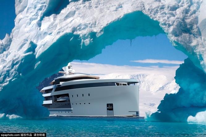 Khám phá tàu du lịch phá băng dành cho các siêu tỉ phú thích chơi ngông ảnh 4