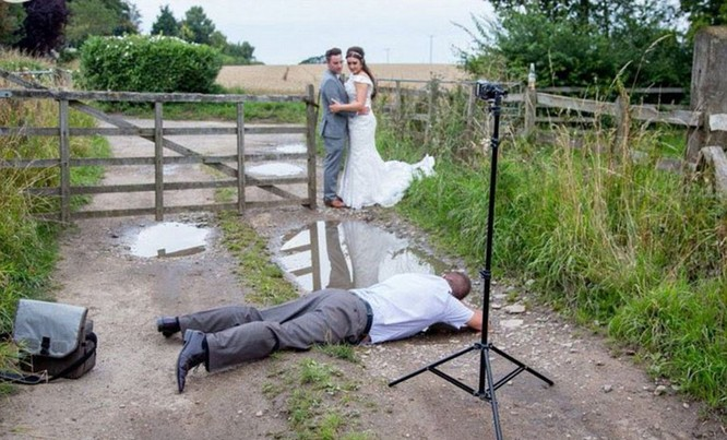 Chùm ảnh cưới tuyệt đẹp và nỗi vất vả khi tác nghiệp của nhiếp ảnh gia ảnh 4