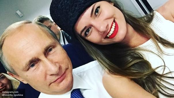 Người mẫu Nga xúc động vì được tổng thống Putin hỏi địa chỉ ảnh 5