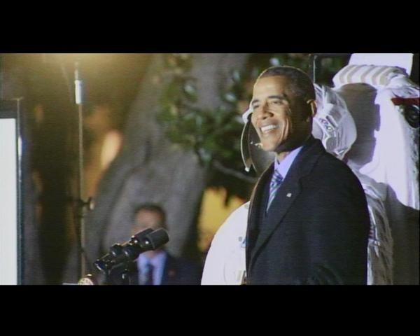 Tổng thống Obama hào hứng ngắm sao cùng Nhà Trắng ảnh 5