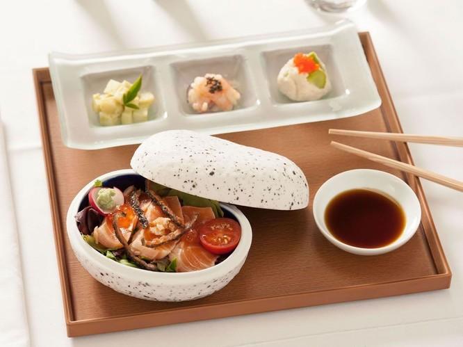 10 hãng hàng không có đồ ăn ngon nhất thế giới ảnh 1