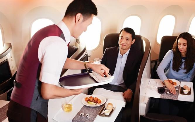 10 hãng hàng không có đồ ăn ngon nhất thế giới ảnh 9