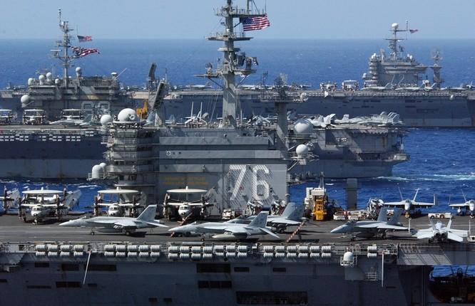 Chùm ảnh tổng quan lực lượng Mỹ dự định điều động sang biển Đông ảnh 7