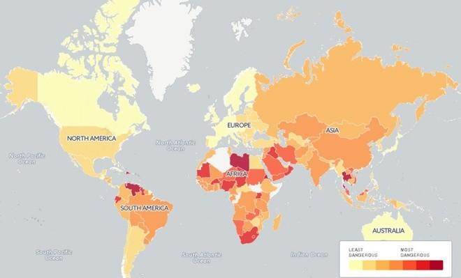 Việt Nam, quốc gia ít khủng bố nhưng giao thông kém an toàn ảnh 2
