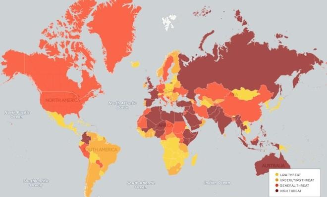 Việt Nam, quốc gia ít khủng bố nhưng giao thông kém an toàn ảnh 1