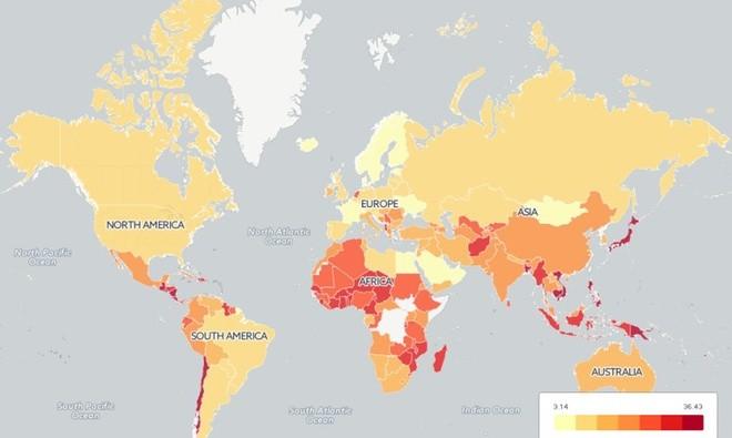 Việt Nam, quốc gia ít khủng bố nhưng giao thông kém an toàn ảnh 8