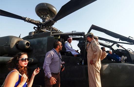 Mãn nhãn với máy bay quân sự các nước tại triển lãm quốc tế Dubai ảnh 5