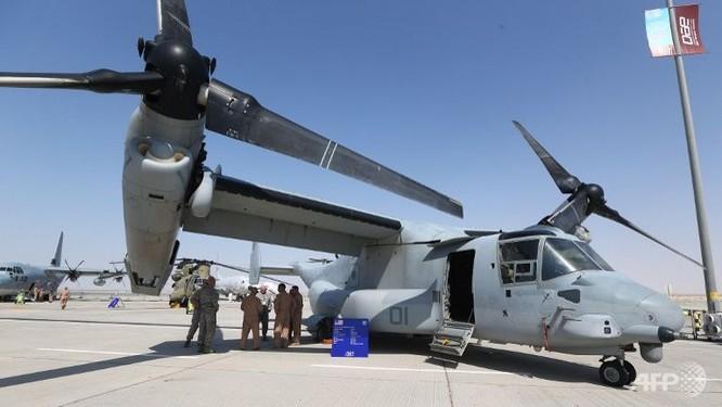 Mãn nhãn với máy bay quân sự các nước tại triển lãm quốc tế Dubai ảnh 7