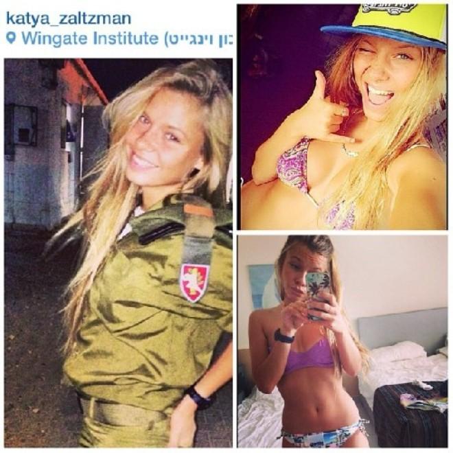 Nóng bỏng những nữ binh Israel xinh đẹp, gợi cảm ảnh 9