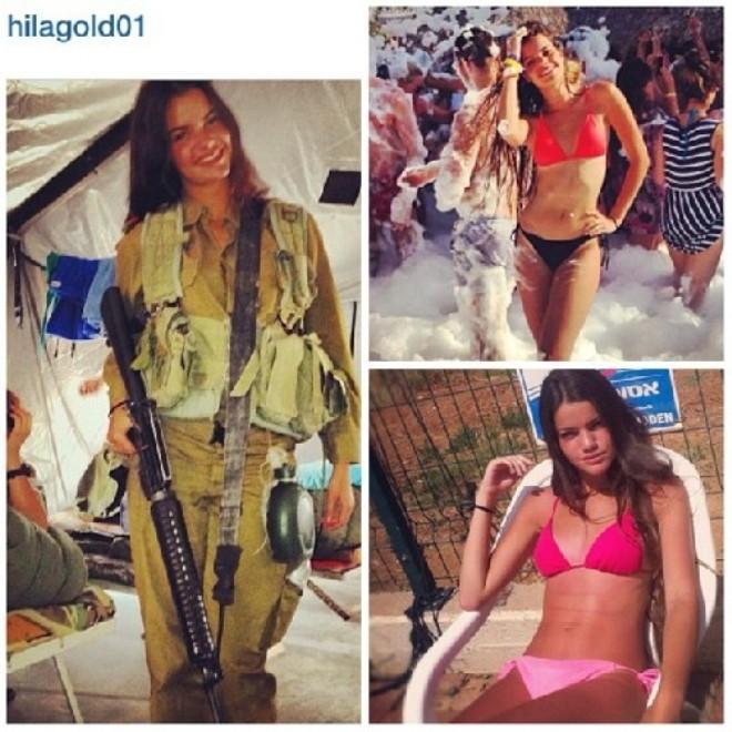 Nóng bỏng những nữ binh Israel xinh đẹp, gợi cảm ảnh 11