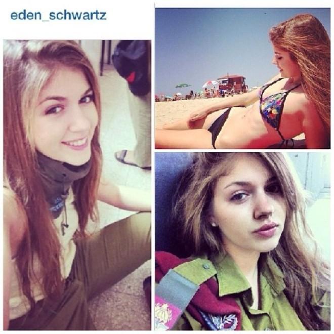 Nóng bỏng những nữ binh Israel xinh đẹp, gợi cảm ảnh 14