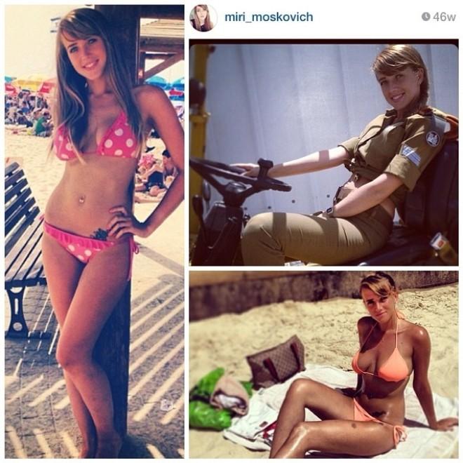Nóng bỏng những nữ binh Israel xinh đẹp, gợi cảm ảnh 3