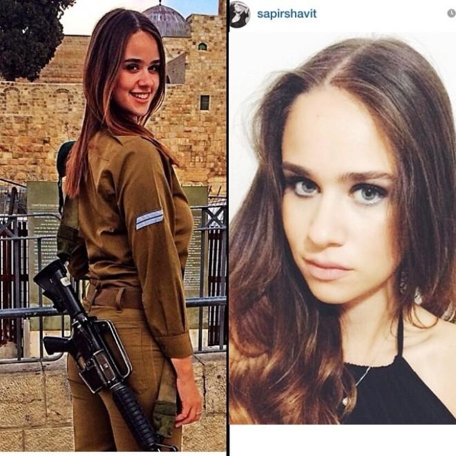 Nóng bỏng những nữ binh Israel xinh đẹp, gợi cảm ảnh 4