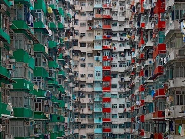 Khó tin trước mật độ công trình kiến trúc dày đặc ở Hồng Kông ảnh 7