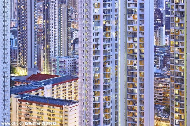 Khó tin trước mật độ công trình kiến trúc dày đặc ở Hồng Kông ảnh 3