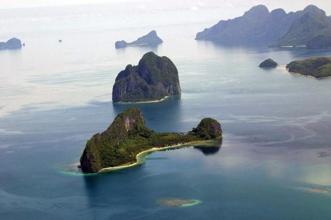 12 hòn đảo có hình thù kỳ lạ nhất thế giới ảnh 1