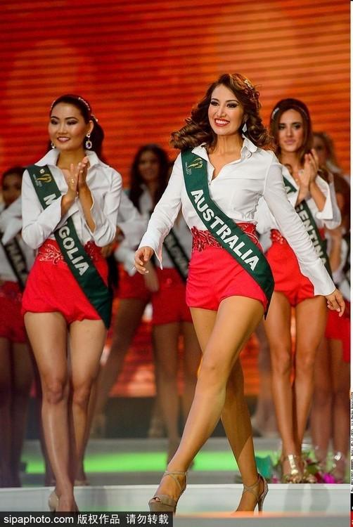 Rực rỡ 86 người đẹp tham gia Hoa hậu Trái đất 2015 ảnh 13