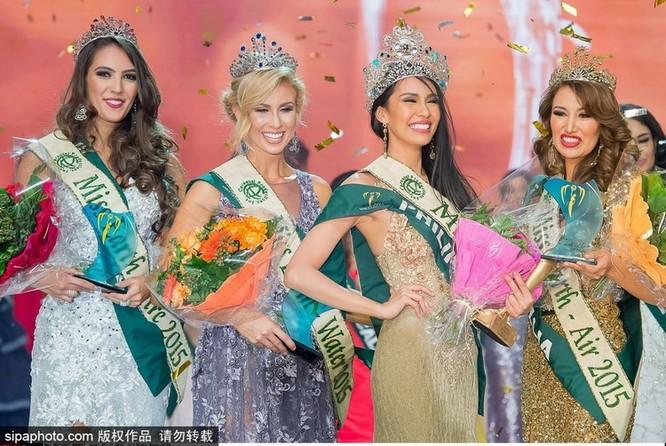 Rực rỡ 86 người đẹp tham gia Hoa hậu Trái đất 2015 ảnh 2