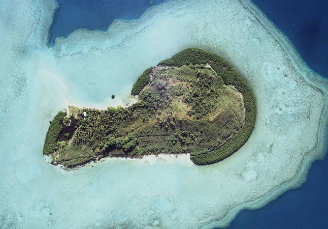 12 hòn đảo có hình thù kỳ lạ nhất thế giới ảnh 8