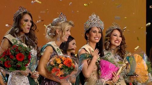 Rực rỡ 86 người đẹp tham gia Hoa hậu Trái đất 2015 ảnh 7