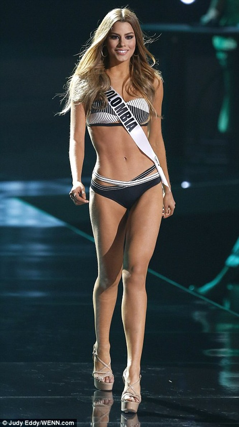 Mãn nhãn với đường cong của 81 người đẹp tham gia Hoa hậu Hoàn vũ 2015 ảnh 5