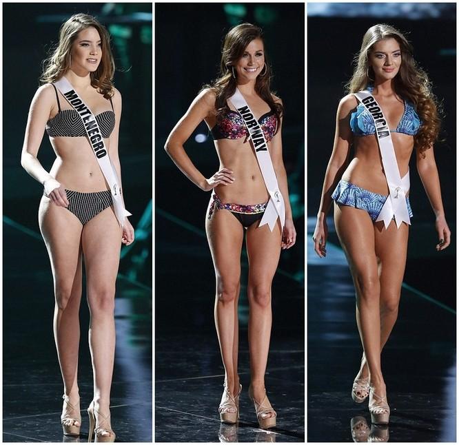 Mãn nhãn với đường cong của 81 người đẹp tham gia Hoa hậu Hoàn vũ 2015 ảnh 12