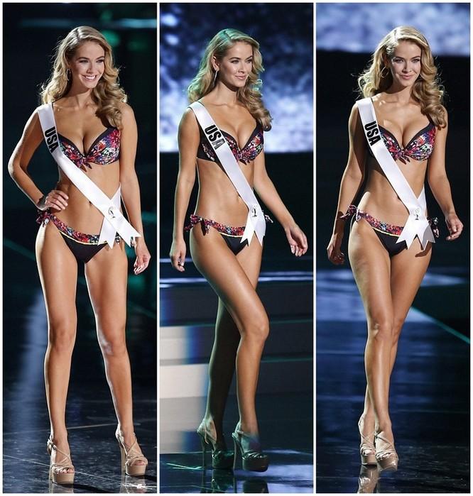 Mãn nhãn với đường cong của 81 người đẹp tham gia Hoa hậu Hoàn vũ 2015 ảnh 7