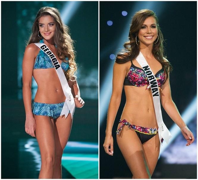 Mãn nhãn với đường cong của 81 người đẹp tham gia Hoa hậu Hoàn vũ 2015 ảnh 6