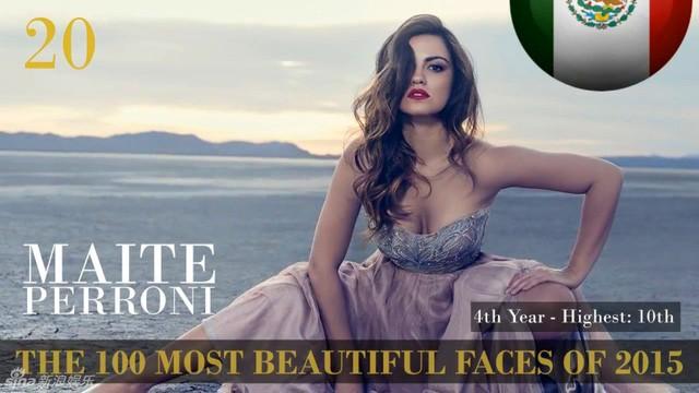 Công bố danh sách 100 gương mặt đẹp nhất thế giới 2015 ảnh 18