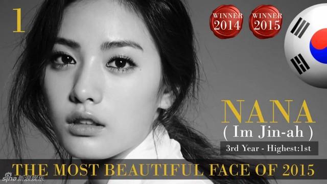 Công bố danh sách 100 gương mặt đẹp nhất thế giới 2015 ảnh 1