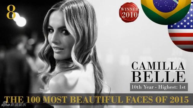 Công bố danh sách 100 gương mặt đẹp nhất thế giới 2015 ảnh 8
