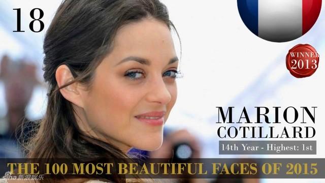 Công bố danh sách 100 gương mặt đẹp nhất thế giới 2015 ảnh 16