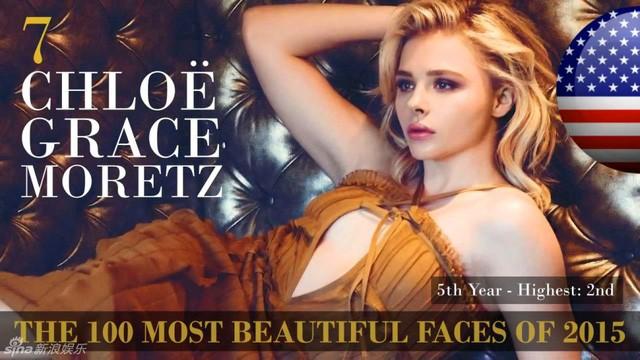 Công bố danh sách 100 gương mặt đẹp nhất thế giới 2015 ảnh 7
