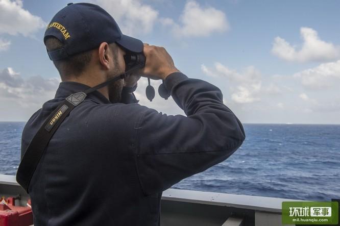 Chùm ảnh mới nhất về hoạt động hạm đội tàu sân bay Mỹ trên Biển Đông ảnh 13