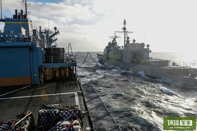 Chùm ảnh mới nhất về hoạt động hạm đội tàu sân bay Mỹ trên Biển Đông ảnh 3