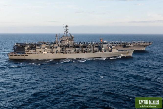 Chùm ảnh mới nhất về hoạt động hạm đội tàu sân bay Mỹ trên Biển Đông ảnh 10