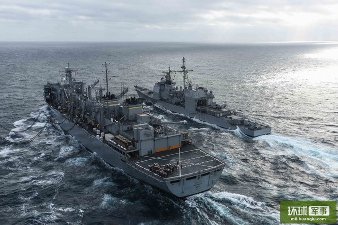 Chùm ảnh mới nhất về hoạt động hạm đội tàu sân bay Mỹ trên Biển Đông ảnh 7