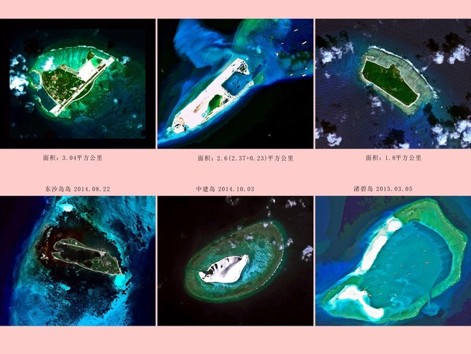 Xây đảo trái phép ở Biển Đông, Trung Quốc dự kiến chi 30 tỷ USD ảnh 6