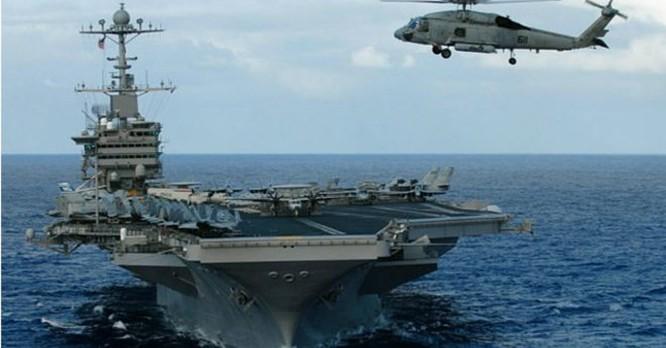 """Mỹ tung """"bảo bối"""" và con bài mẫu hạm tàu ngầm trị Trung Quốc ảnh 2"""